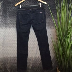 Hudson 27 dark skinny jean